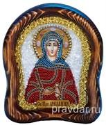 Мелания Римляныня Святая, дивеевская икона 17 см