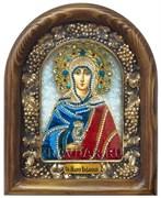Мария Вифанская Праведная, дивеевская икона из бисера