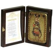 Иоанн Воин икона ручной работы под старину