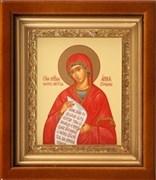 Анна Праведная, икона в киоте 16х19 см