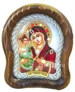 Троеручица Божья Матерь, дивеевская икона 15х17 см