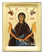 Пояс Пресвятой Богородицы, копия чудотворной иконы с Афона