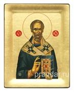 Николай Чудотворец, копия чудотворной иконы с Афона