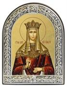 Ольга Равноапостольная, икона с серебряной рамкой