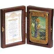 Святой праотец Адам икона ручной работы под старину