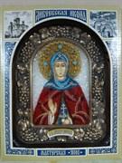 Александра Дивеевская Преподобная, дивеевская икона из бисера