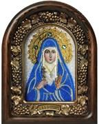 Икона Святая мученица великая княгиня Елисавета, дивеевская икона из бисера
