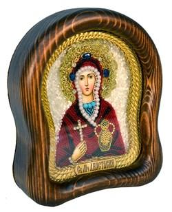Анастасия Узорешительница, дивеевская икона из бисера - фото 4940