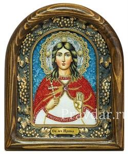 Ирина Македонская, дивеевская икона из бисера - фото 5221