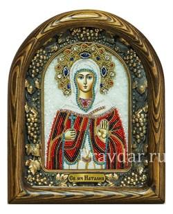 Наталия Святая мученица, дивеевская икона из бисера - фото 5229