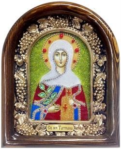 Татьяна Святая мученица, дивеевская икона из бисера - фото 5359