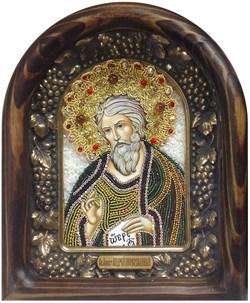 Андрей Первозванный Апостол дивеевская икона из бисера  - фото 5363