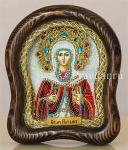 Наталия Святая мученица, дивеевская икона из бисера - фото 5516