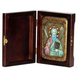 Андрей Первозванный апостол икона ручной работы под старину - фото 5589