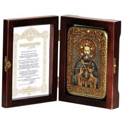 Иоанн Кронштадский икона ручной работы под старину - фото 5723