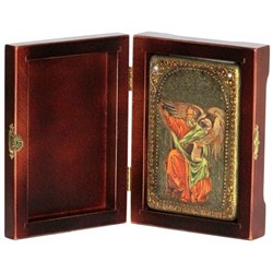 Иоанн Богослов, Святой апостол икона ручной работы под старину - фото 5733