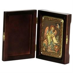 Иоанн Креститель икона ручной работы под старину - фото 5751