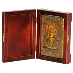 Лука Святой апостол и евангелист икона ручной работы под старину - фото 5779