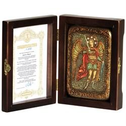Михаил Архангел икона ручной работы под старину - фото 5795