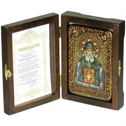 Паисий Святогорец икона ручной работы под старину - фото 5835