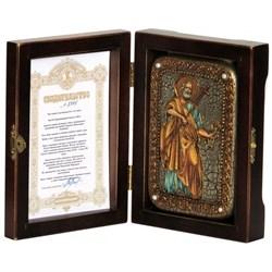 Петр Апостол икона ручной работы под старину - фото 5855