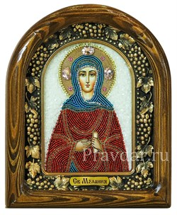 Мелания Римляныня Святая, дивеевская икона - фото 5903