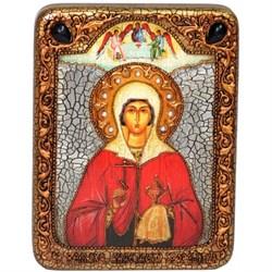 Анастасия Узорешительница икона ручной работы под старину - фото 6025