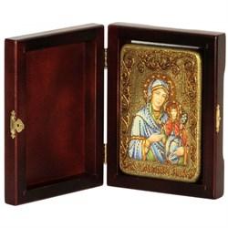 Анна, мать Пресвятой Богородицы икона ручной работы под старину - фото 6040