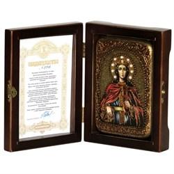 Екатерина Святая великомученица икона ручной работы - фото 6079