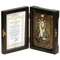 Матрона Московская икона ручной работы - фото 6149