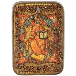 Спас в Силах, икона в авторском стиле на мореном дубе - фото 6426