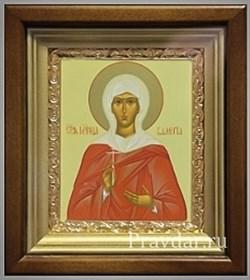 Валерия Святая мученица, икона в киоте 16х19 см - фото 6768
