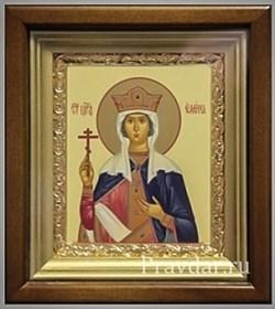 Елена Святая царица, икона в киоте 16х19 см - фото 6786