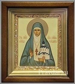 Елизавета Святая мученица, икона в киоте 16х19 см - фото 6788