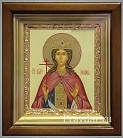 Ирина Македонская Святая великомученица, икона в киоте 16х19 см - фото 6790