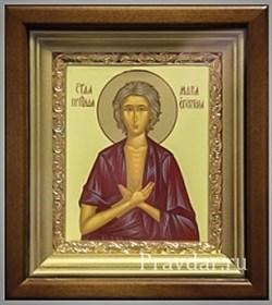 Мария Египетская, икона в киоте 16х19 см - фото 6806
