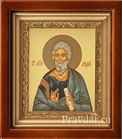 Андрей Первозванный, икона в киоте 16х19 см - фото 6854