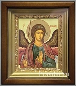 Михаил Архангел, икона в киоте 16х19 см - фото 6858