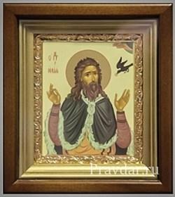 Илия пророк, икона в киоте 16х19 см - фото 6880