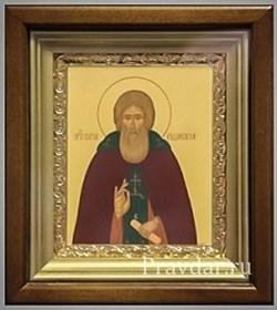 Сергий Радонежский, икона в киоте 16х19 см - фото 6904