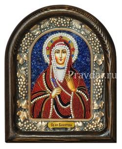 Валентина Святая мученица, дивеевская икона из бисера - фото 6907