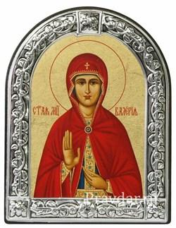 Валерия Святая мученица, икона с серебряной рамкой - фото 6920