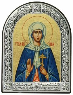Виктория (Ника) Святая мученица, икона с серебряной рамкой - фото 6930