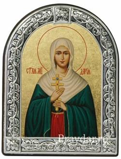 Дария Святая мученица, икона с серебряной рамкой - фото 6934