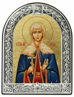 Лидия Святая мученица, икона с серебряной рамкой - фото 6946