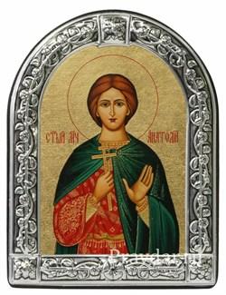 Анатолий Святой мученик, икона с серебряной рамкой - фото 6970