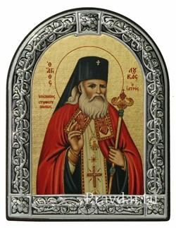 Лука Войно-Ясенецкий Святитель, икона с серебряной рамкой - фото 7007