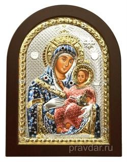 Вифлеемская Божья Матерь, икона с серебряным окладом - фото 7156