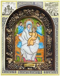 Экономисса (Домостроительница) образ Божьей Матери, дивеевская икона - фото 7356