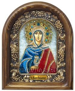 Мария Вифанская Праведная, дивеевская икона из бисера - фото 8016